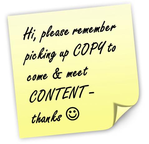 Warum Copywriting und Content Marketing gut zusammenpassen